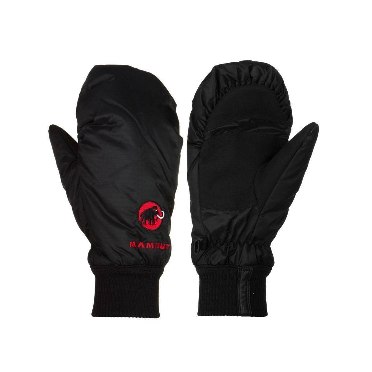Fingerless gloves climbing - Mammut Kompakt Mitten Black