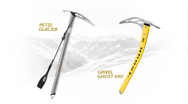 Ice Axes for glacier travel