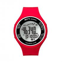 Air'n Outdoor Granita Watch/Altimeter - Red Orange Positive