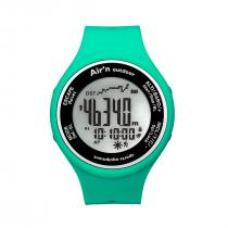 Air'n Outdoor Granita Watch/Altimeter - Water Green Positive