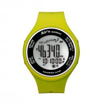 Air'n Outdoor Granita Watch/Altimeter - Yellow Positive