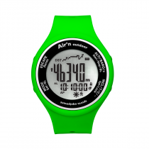 Air'n Outdoor Granita Watch/Altimeter - Apple Green Positive
