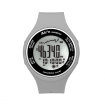 Air'n Outdoor Granita Watch/Altimeter - Grey Smoke Positive