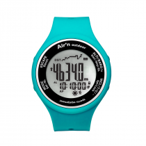 Air'n Outdoor Granita Watch/Altimeter - Turquoise Positive
