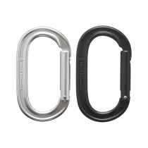 Black Diamond Oval Keylock Carabiner - Black