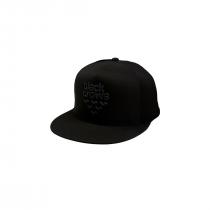 Black Crows Full Logo Trucker Cap - Black/Black