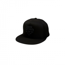 Black Crows Full Logo Trucker Cap - Black/Black