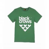 Black Crows Full logo T-shirt - Sycamore