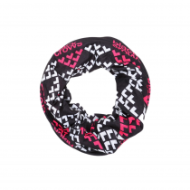 Black Crows Maska Necktube - Black/White/Pink