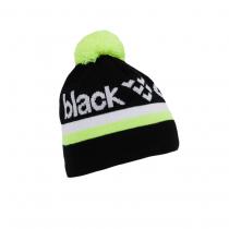 Black Crows Nomen Beanie - Black/White/Yellow