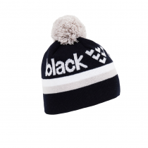 Black Crows Nomen Beanie - Dark Blue/White/Grey