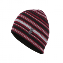 Black Diamond Cardiff Beanie - Bordeaux_Grey Stripe