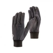 Black Diamond Lightweight Softshell Gloves - Smoke