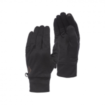 Black Diamond Lightweight Wooltech Gloves - Anthracite