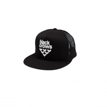 Black crows Mesh Trucker Cap - Blue_White