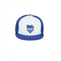 Black crows Mesh Trucker Cap - Blue_White