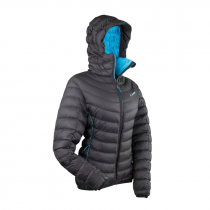 Camp Ed Protection Jacket Women - Black/Turquoise