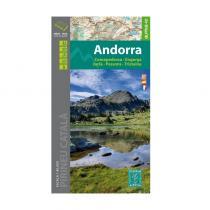 Carte de Randonnées Andorra - 1/40.000 - 2016