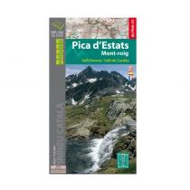 Carte de Randonnées Pica d'Estat - Mont-Roig - 1/25.000 - 2016