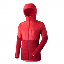 Dynafit Radical 2 Prl Hooded Jacket Women - Hibiscus