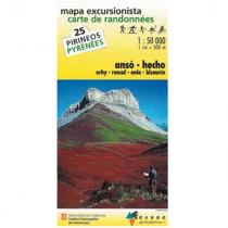IGN Carte de Randonnées 1:50000 Pyrénées - 7