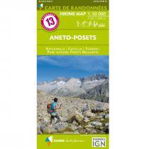 IGN Carte de Randonnées 1:50000 Pyrénées - 8