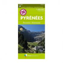 IGN Pyrenees Hiking Maps 1:400 000