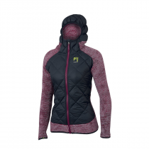 Karpos Marmarole W Jacket - Dark Grey/Raspberry