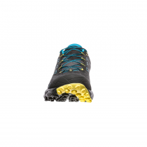 La Sportiva Akyra Trail - Carbon/Tropic Blue - 3