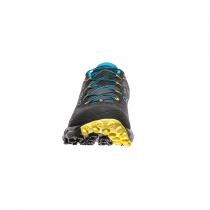 La Sportiva Akyra Trail - Carbon/Tropic Blue - 2