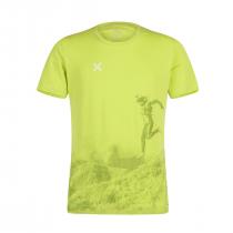 Montura Motion T-Shirt - Lime Green