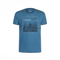 Montura Moving Landscape T-Shirt - Teal Blue