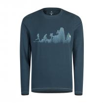 Montura Sporty T-Shirt ML - Ash Blue