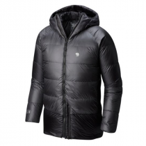 MOUNTAIN HARDWEAR PHANTOM HOODED DOWN JACKET - SHARK