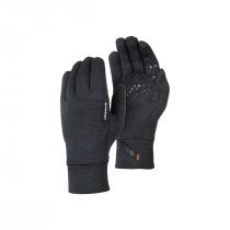 Mammut Wool Glove - Black Mélange