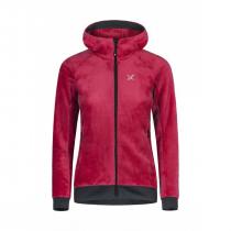 Montura Polar Sport Hoody Jacket Woman - Rosa Sugar