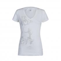 Montura Romance T-Shirt Women - Sugar Pink/White