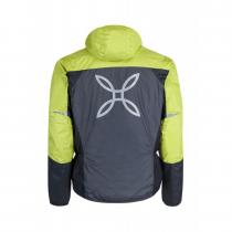 Montura Skisky Jacket - Gunmetal Grey / Lime Green - 1