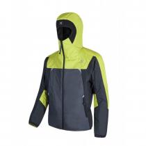 Montura Skisky Jacket - Gunmetal Grey / Lime Green