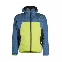 Giacca Montura Skisky - Verde Lime / Blu Cenere