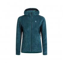 Montura Soft Pile Jacket Woman - Baltic Blue