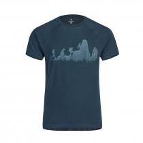 Montura Sporty T-Shirt - Ash Blue