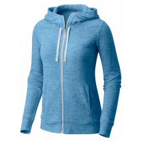 Mountain Hardwear Burned Out Women Full Zip Hoody - Storm Cloud