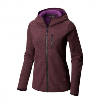 Mountain Hardwear Hatcher Full Zip Hoody Femme-Dark Tannin