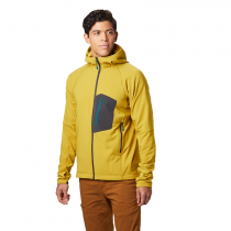 Mountain Hardwear Keele Hoody - Dark Citron
