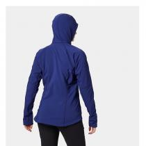 Mountain Hardwear Keele Hoody Women's - Dark Illusion - 1