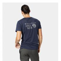 Mountain Hardwear Logo Short Sleeve T - Dark Zinc Blue - 1