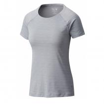 Mountain Hardwear Mighty Stripe T-Shirt Femme - Steam