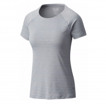 Mountain Hardwear Mighty Stripe T-Shirt Femme - Steam