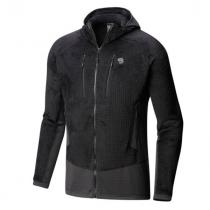 Mountain Hardwear Monkey Man Grid Hooded Jacket -Black